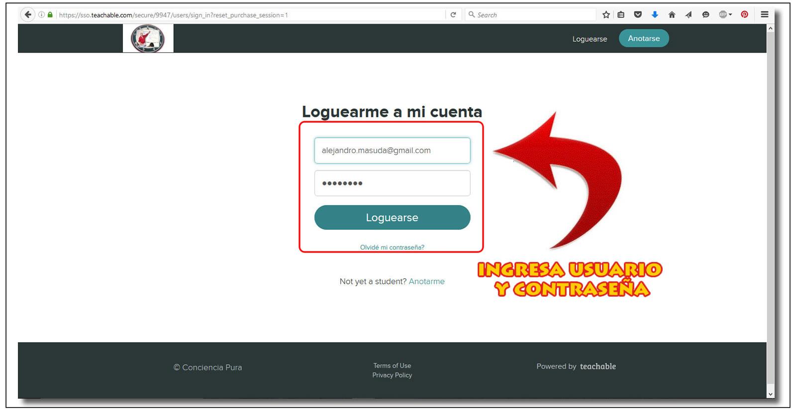 GUIA INGRESO A FEDORA 2-USUARIO&CONRASEñA 1-Fullscreen capture 8222016 14545 PM